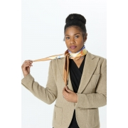 THE ERYKAH TREE - Women's Scarf with Handrolled edges