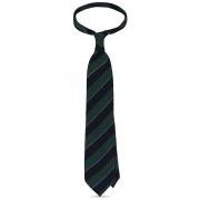 Mix Striped Grenadine Shantung Handrolled Tie