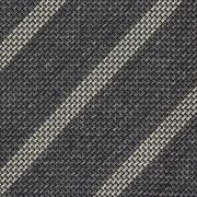 CLASSIC STRIPE GRENADINE TIE – GREY / BEIGE