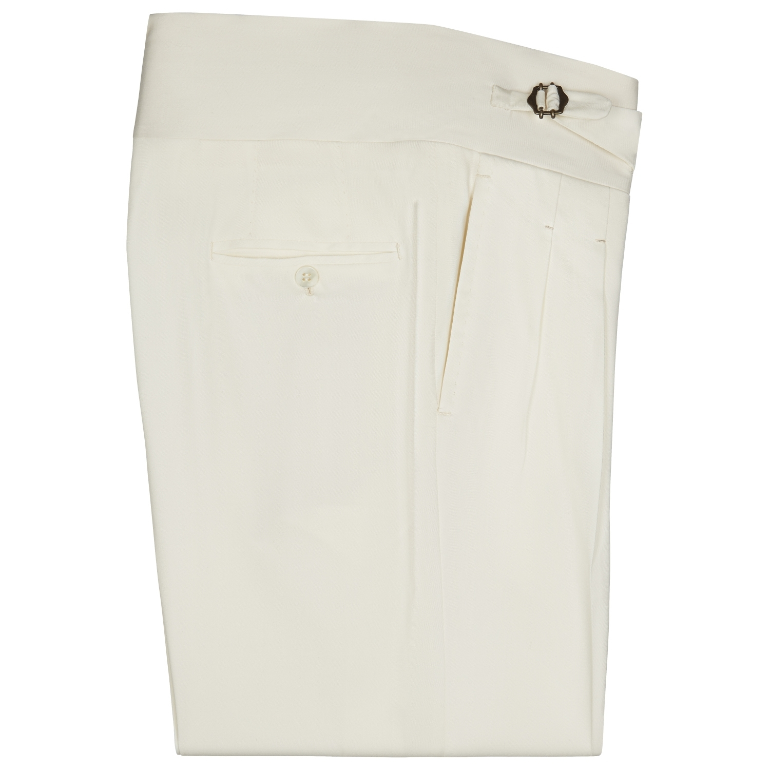 SSM-TR3 – CREAM GURKAH TROUSERS - WOOL / CASHMERE LORO PIANA