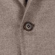 SSM10 – BEIGE SINGLE BREASTED JACKET – 100% PIACENZA CASHMERE