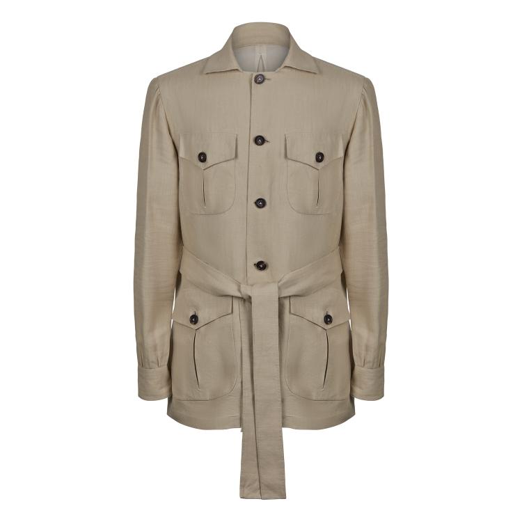 SSM15 - Safari Jacket - Beige