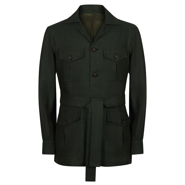 SSM15 - Safari Jacket - Forest Green