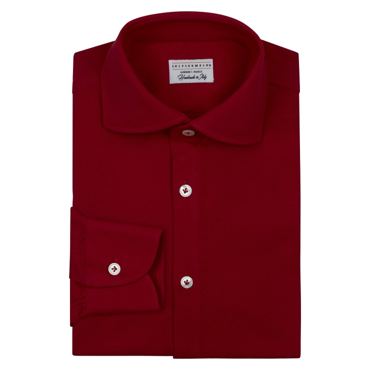 COTTON LONG SLEEVED POLO SHIRTS