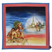 THE DAY DREAMING – Women's Scarf with Handrolled edges