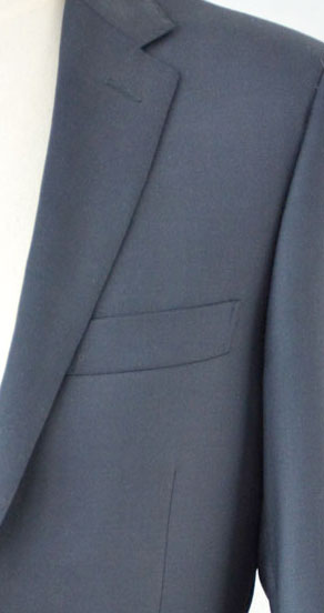 Image close-up of suit