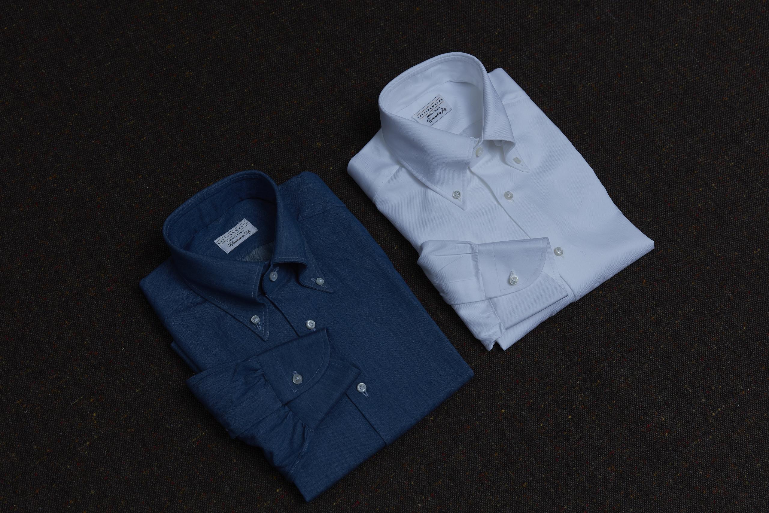 Découvrez nos chemises de luxe italiennes